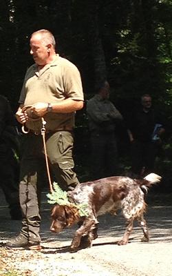 Yack und sein Hundeführer