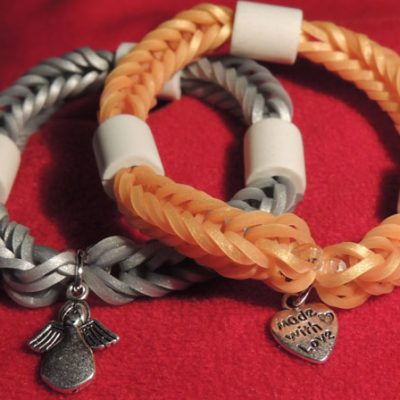 Artikel Gold/Silber-LoomBand