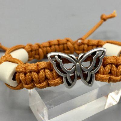 Kinderarmband mit Schmetterlingmetallschieber