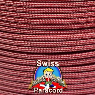 Imperial Rot Rot Silber Grai Streifen