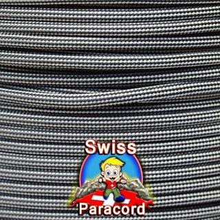 Silbergrau Schwarze Streifen